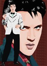 Elvis Presley - Trouble 58-68 - Original (signed) art print - Jarod Art