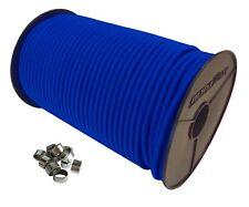 Expanderseil Set Gummiseil Gummischnur Planenseil mit Würgeklemmen Blau