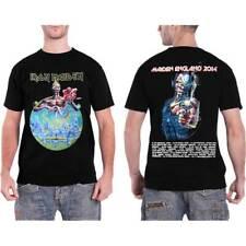 Iron Maiden England Tour 2014 Officiel T-Shirt Toutes Les Tailles septième fils Eddie Logo