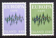 Iceland - 1972 Europa Cept Mi. 461-62 MNH
