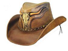 Dallas Hats Cowboyhut Lederhut The Steer Gr. S - XL