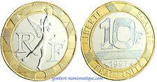10  FRANCS  GENIE  DE  LA  BASTILLE  1997 ,    FLEUR  DE  COIN