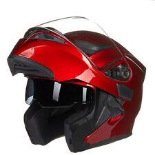 New Modular Motorcycle Helmet Dual Lens System Racing Flip up Motocross Helmets