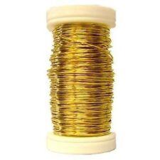 50 meters Length Aluminium Craft Floral Florist Decor Wire 24 Gauge Gold color