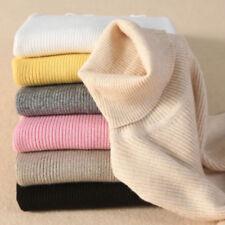 Autumn Women Cashmere Sweater Winter Knitted Turtleneck Pullover Warm Jumper