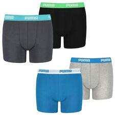 2 He Pack Puma Boxer Boxer Shorts Boy's Children's Underpants Underwear