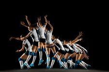 VLIES Fototapete-ABSTRAKT DESIGN-(3938V)-Volleyball Wanddeko Sport Deko Tapete