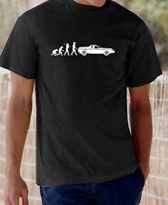 """Evolution of Man"" Lotus Europa t-shirt"