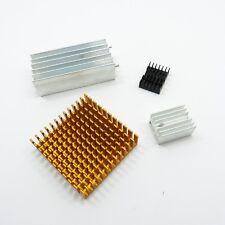 Chip dissipateur de chaleur en aluminium IC Radiateur Refroidisseur différentes tailles et couleurs