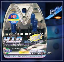 H9 12V 65W 5000K HID XENON HEAD LIGHT BULBS SUPER WHITE
