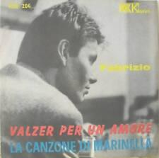 """FABRIZIO DE ANDRE' """"VALZER PER UN AMORE /LA CANZONE DI MARINELLA"""" 45 raro"""