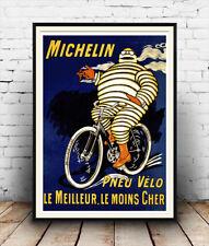 Michelin: Vintage Publicidad Cartel reproducción