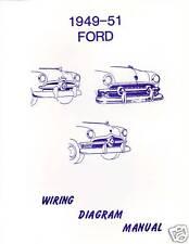 1949-51 FORD  WIRING DIAGRAM  MANUAL