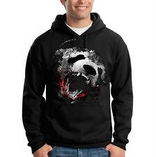 Panda Bite Scary Bear Wild Animal Hooded Sweatshirt Hoodie