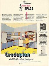 "original large colour advert "" creda conquers kitchen space """