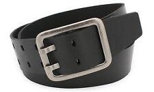 5 cm Damen echt Ledergürtel Büffelleder Gürtel schwarz braun Belt Vascavi Leder