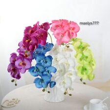 Orchidée Phalaenopsis fleur artificielle 70cm décoration maison mariage 1 pcs.
