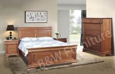 Cambridge Solid Tasminian Oak Bedroom -Queen and King Available
