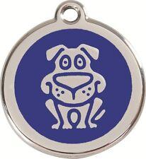 médaille gravée red dingo 2cm pour petit chien