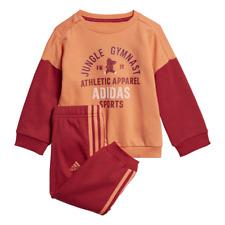 Adidas Infant Set Graphic Jogger Terry Sports Fashion Training Baby Girls ED1173