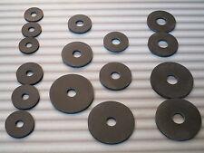 20 Stück Gummiunterlegscheiben , Gummischeibe , schwarz , Ø 20, 25, 30 od. 40 mm