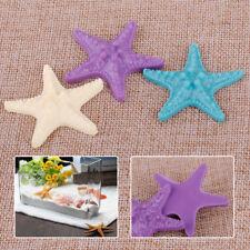 3 Resin Starfish Tropical Ornament Beach Ocean Sea Star Home Room Wall Decor New