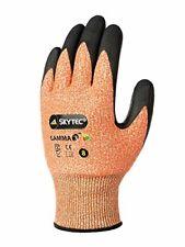 Skytec guantes sky51-l Gamma 3guantes, grande, ámbar/negro (Pack de 2)