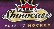 16/17 UD FLEER SHOWCASE HOCKEY BASE TEAM SETS (ANA-WIN) U-Pick Team From List