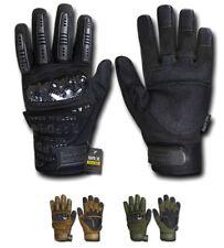 RapDom Carbon Fiber Knuckle Tactical Combat Touchscreen Gloves