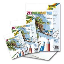 Zeichenpapier /-karton /-block DIN A4 A3 A2, 90-250g/m², 10-500 Blatt weiß