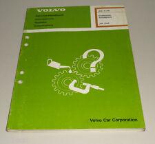 Werkstatthandbuch Elektrik / Schaltpläne Volvo 760 Baujahr 1988
