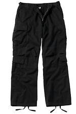 Vintage Black Paratrooper Cargo Pants BDU XS-4XL