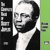 THE COMPLETE RAGS OF SCOTT JOPLIN 2 CD SET  William Albright