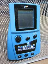 MISSILE COMMAND handheld MCA video-game 2001 LCD arcade classic Atari travel