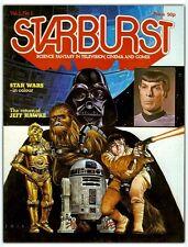 Starburst 1(1978) Star Wars, Star Trek, Jeff Hawke, Harry Harrison, Dave Gibbons