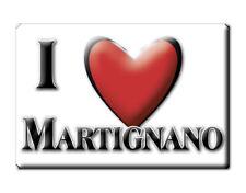 CALAMITA PUGLIA ITALIA FRIDGE MAGNET MAGNETE SOUVENIR I LOVE MARTIGNANO (LE)