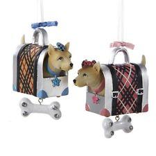 Dog Carrier Dangling Bone Ornaments