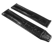 Maurice Lacroix XL Pontos Uhrenarmband Leder Louisiana Optik schwarz 25094