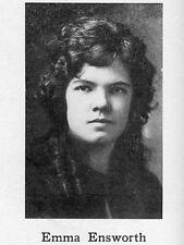 1924 Elmira Free Academy High School Yearbook~Photos~football~baseball~history++