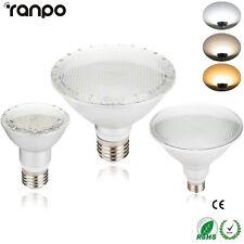 Dimmable PAR20 PAR30 PAR38 E27 LED Light 15W 25W 30W Energy Save Lamp 110V 220V