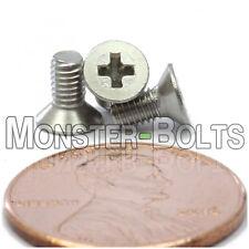 M3 x 6mm Stainless Steel Phillips Flat Head Machine Screws, Countersunk DIN 965