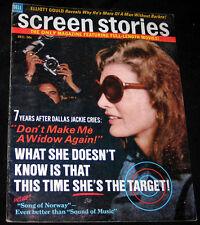 1970 Screen Stories GENEVIEVE BUJOLD Marlon Brando JACKIE O (VG COPY)