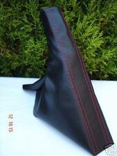 Fits HONDA CRX DEL SOL 92-97 cuir frein à main rouge ST nouveau