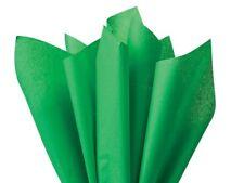 VERDE OSCURO Papel De Seda De Envolver láminas - 18gsm libre de ácidos - 35x45cm