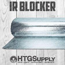 IR BLOCKER 25', 50', 100' Ft. ROLLS HYDROPONIC GROW ROOM THERMAL SHIELD LINER