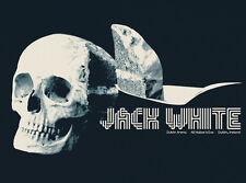 JACK WHITE 2012 Dublin Ireland Jay Shaw Poster Print Stripes Third Man Records
