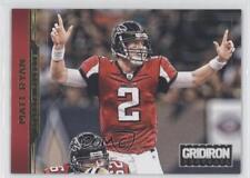 2012 Panini Gridiron Gold Xs #11 Matt Ryan Atlanta Falcons Football Card