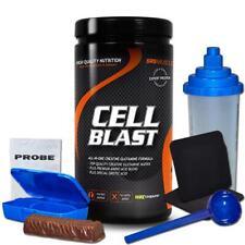 (65,20 Eur/kg) SRS Cell Blast 800g Dose Kreatin Monohydrat Creapure BCAA + Bonus
