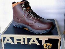 Ariat cuero caza/trekkings/senderismo Boots/botas d Medium 10016036 color Teak nuevo