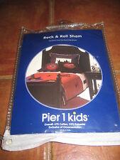 Pier 1 Kids Rock & Roll Sham Standard Size New NOW ON SALE